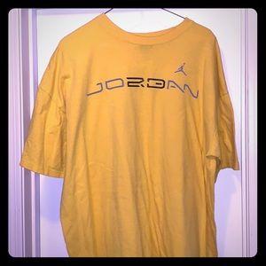 Yellow Jordan shirt!!